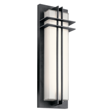 Kichler 49298BKTLED - Outdoor Wall LED