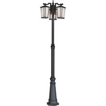 Artcraft AC8779BK - Hampton AC8779BK Outdoor Post Light