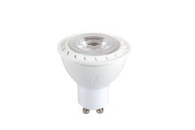 Elegant GU10LED101 - LED Lamp,GU10,7W,120V;60Hz,3000K,520lm,Ra80,Beam Angle 35�,25000h lifetime,Luminus LED Chip,Dimmable