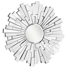 Elegant MR-3005C - Modern 47.5 in. Contemporary Mirror in Clear