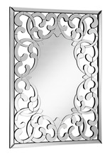 Elegant MR-4005 - Modern 31.5 in. Contemporary Mirror in Clear