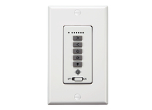 Monte Carlo ESSWC-7-WH - 6 Speed Wall Control - White